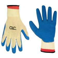Para-aramid synthetic fiber String Knit Latex Dip Gripper Gloves