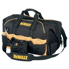 "18"" Pro Contractors Closed Top Tool Bag"