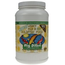 3.5 Lbs. Microbe-Lift Legacy Big Bites Koi and Fish Food