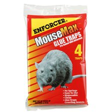MouseMax™ Glue Mouse Trap (Set of 4)