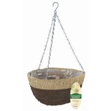 Natural Hanging Basket (Set of 10)