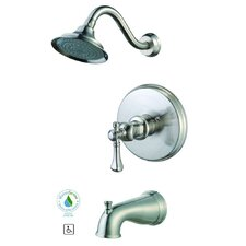Verdanza Tub and Shower Faucet Trim with Lever Handle