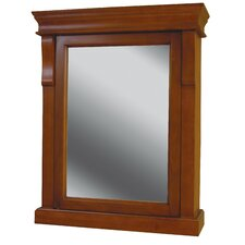 Naples Mirror Medicine Cabinet in Warm Cinnamon