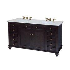 "Bimini 60"" Double Bathroom Vanity Set"