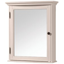 "Arcadia 24"" x 30"" Surface Mount Beveled Edge Medicine Cabinet"
