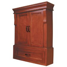 Naples Wall Cabinet in Warm Cinnamon