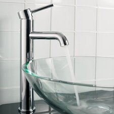 Tower Single Hole Vessel Faucet with Single Lever Handle
