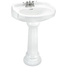 Aberdeen Petite Pedestal Sink Set