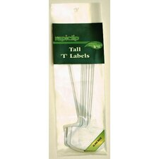 Tall Rapiclip Plant T Labels (Set of 12)