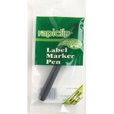 Rapiclip Label Marker Pen (Set of 12)