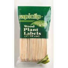 Rapiclip Wood Plant Labels (Set of 12)