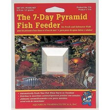 Pyramid 7 Day Fish Feeder - 1 Pack