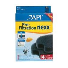 Api Nexx Circular Foam 30 Filter - 2 Pack