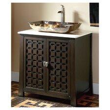 """30"""" Single Vessel Sink Vanity Set"""