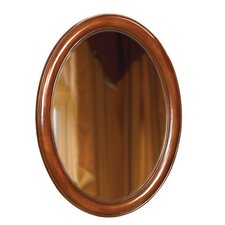 "Oval 33"" x 25"" Bathroom Vanity Mirror"