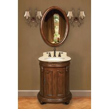 "<strong>Belle Foret</strong> 25"" Petite Bathroom Vanity Set"