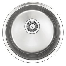"<strong>Belle Foret</strong> 18"" x 18"" Round Bar Sink"