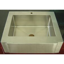 "36"" x 26"" Apron Front Zero Radius Kitchen Sink"
