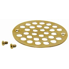 "3.38"" Grid Shower Drain"