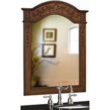 Single Oak Mirror