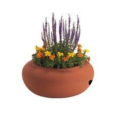 Terracotta Style Round Garden Hose Pot Planter