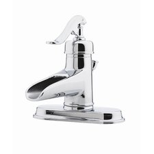 Ashfield Single Hole Vessel Bathroom Faucet with Single Scroll Handle