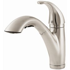 Parisa One Handle Centerset Pull-Out Kitchen Faucet