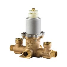 Thermostatic Tub and Shower Valve with Stop