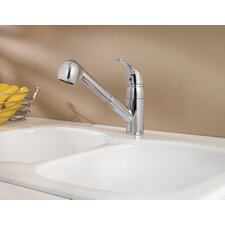 Pfirst Series One Handle Pull-Out Kitchen Faucet