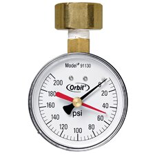 200 PSI Water Pressure Gauge