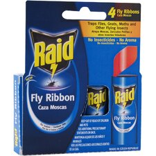 Raid Fly Catcher Ribbon (4 Pack)