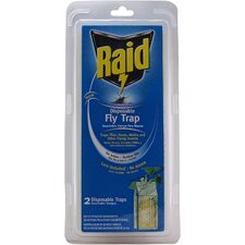 Raid Disposable Fly Trap (2 Pack)