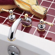 Amarilis Deck Mount Double Handle Bath Tub Faucet