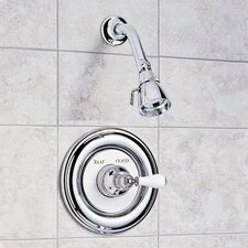 Hampton Shower Trim with Metal Lever Handle