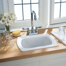 "Chandler 16.5"" x 12.38"" Americast Island Kitchen Sink"