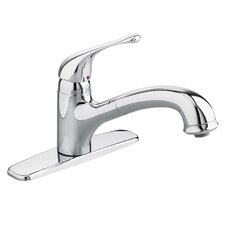 <strong>American Standard</strong> Colony Soft Single Handle Kitchen Faucet with  Pull Out Sprayer