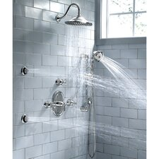 <strong>American Standard</strong> Portsmouth Diverter Shower Faucet Trim Kit with Metal Cross Handle