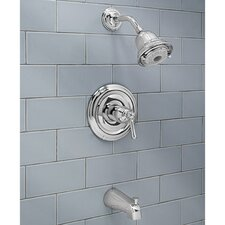 Portsmouth Flowise Dual Bath/Shower Faucet Trim Kit