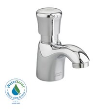 Pillar Tap Single Hole Metering Faucet with Single Knob Handle