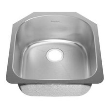 "20.63"" x 19.88"" Undermount Single Bowl Kitchen Sink"