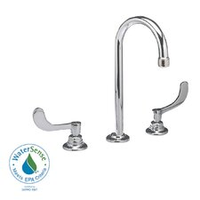 Monterrey Widespread Bathroom Faucet with Double Wrist Blade Handles