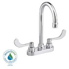Monterrey Centerset Bathroom Faucet with Double Wrist Blade Handles