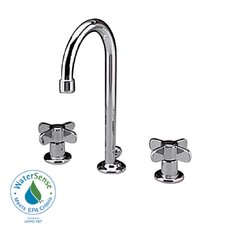 <strong>American Standard</strong> Heritage Widespread Bathroom Faucet with Double Lever Handles