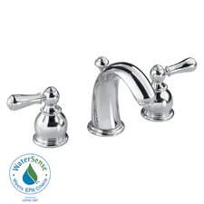 Hampton Widespread Bathroom Faucet with Double Lever Handles