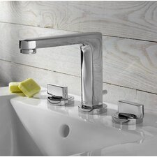 Moments Centerset Bathroom Sink Faucet with Double Lever Handles