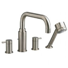 Serin 2 Handle Deck Mount Roman Tub Faucet with Handshower