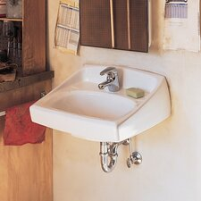 Lucerne Wall Hung Bathroom Sink with Less Overflow