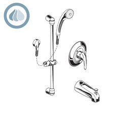 1.5 GPM Commercial Shower System Kit