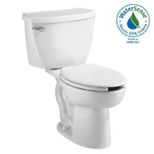 Cadet Right Height 1.1 GPF Elongated 2 Piece Toilet with Bedpan Slots Combo