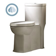 <strong>American Standard</strong> Boulevard Siphonic Dual Flush Right Height 1.1 GPF / 1.6 GPF Elongated 1 Piece Toilet with Seat